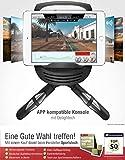 Sportstech Ellipsen Crosstrainer CX640, Smartphone App kompatibel, 24 KG Schwungmasse, Street View, 26 Trainingsprogramme mit HRC-Funktion - 3