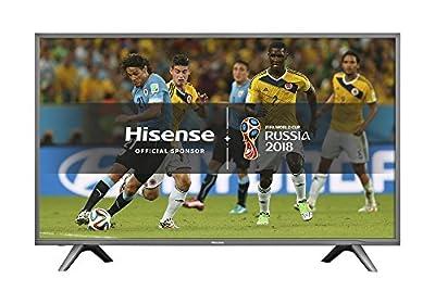 Hisense H43N5700UK 43-Inch 4K UHD Smart TV - Grey