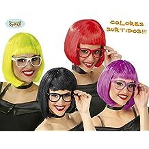 Guirca - Gafas fashion sin cristales, 1 Unidad, colores surtidos