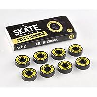 Skatewarehouse - Rodamientos para skateboard, ABEC 9