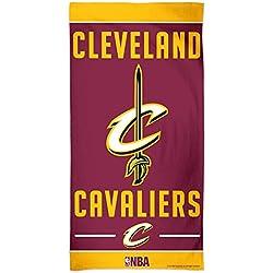 NBA Cleveland Cavaliers toalla de playa, 76,2 x 152,4 cm, color del equipo