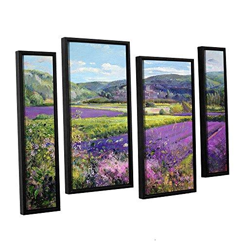 ArtWall Timothy Easton's Lavendelfelder in Old Provence 24x36