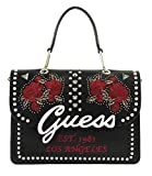 Guess BORSA A MANO/TRACOLLA MOD. IN LOVE 3 COMPARTI ECOPELLE NERO B19GU65