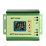 Befaith MPPT Solarpanel Batterie Laderegler Farbe LCD Digitalanzeige Boost Spannungswandler Regler DC 12-60 V Schritt bis zu DC 15-90 V für 24 V / 36 V / 48 V / 60 V / 72 V 0-10A Akku Lade