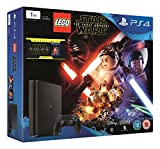 Sony PlayStation 4 1TB Console with LEGO Star Wars: The Force Awakens Game + Blu-Ray Movie