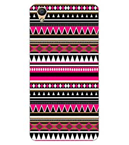 ColourCraft Tribal Pattern Design Back Case Cover for OPPO F1 PLUS