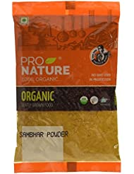 Pro Nature 100% Organic Sambhar Powder, 100g