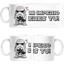 Taza Star Wars para friki clon San Valentín mi imperio eres tu