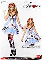 Smiffy's Fever Miss Wonderland Costume