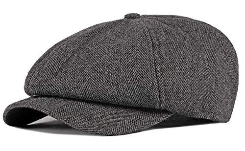 Charmylo Newsboy Hat Boinas Gorra Gatsby Baker Boy