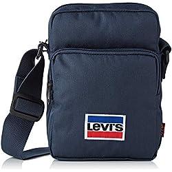 Levi's - L Series Small Cross Body Sportswear, Carteras de mano Hombre, Azul (Navy Blue), 8x20x14 cm (W x H L)