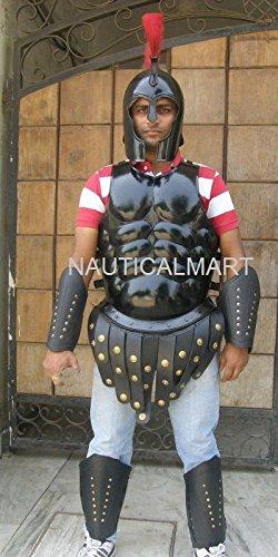 römischen Muscle Armor CUIRASS mit Griechischer Spartan Helm