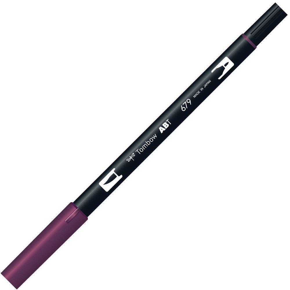 Tombow pennello penna, su due lati, viola scuro