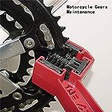 NTUOO Bike Chain Kit di Pulizia-Catena Scrubber, setola Spazzola Catena, Gear Cleaner, Attrezzi per la Cura della Bici Kit di Manutenzione (3PCS) Bike Angolo Macchia sporcizia Pulito Durevole/Pratico