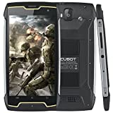 CUBOT Rugged Smartphone, KING KONG IP68 Waterproof Smart phone, Shockproof, Dustproof, 4400mAh Big Battery Outdoor Smartphone , Compass GPS Smartphone, Unlocked Mobile Phone Mobile Phone, Android 7.0, 3G WCDMA Dual-SIM, 2GB RAM+16GB Rugged Phone, 5 inch HD IPS Touch Screen, WIFI, Bluetooth Cell Phone,Unlocked Mobile Phone (2018 New)