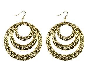 Boland 64412Pendientes Gypsy Hoop, Disfraz, One Size
