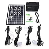 Features:Reusable solar generator, solar charging, environmental protection and energy saving, you can use it in anywhere when there is adequate sunshine.Equipped with usb charging cable, you can charge for mobile phones, MP3, MP4, digital cameras...