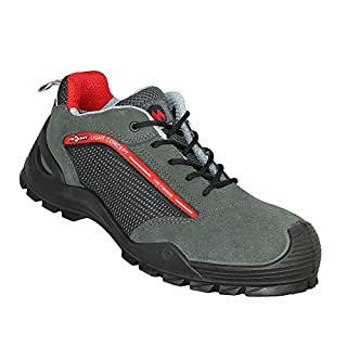 Aimont Arx S1P SRC Safety Shoes Hiking Boots Green Flat B-Stock Green Size:  8