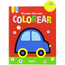 Coche. Mi Primer Libro Para Colorear