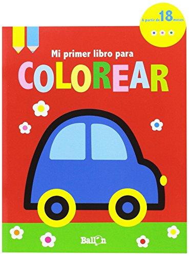 Coche-Mi-Primer-Libro-Para-Colorear
