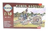 SMER Modellbau Kunststoff Modellbausatz Militär Napoleonische Kanone 1:18