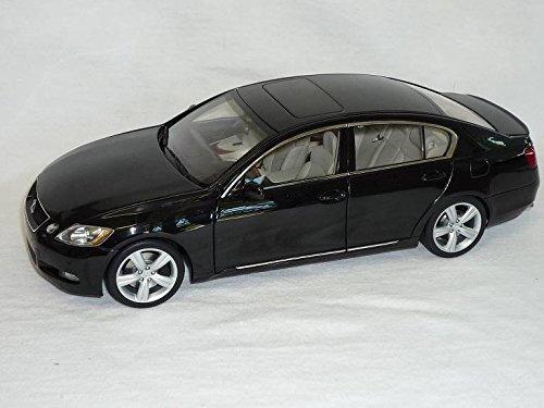 lexus-gs430-gs-ab-2006-schwarz-baugleich-gs450h-gs300-1-18-autoart-auto-art-modellauto-modell-auto