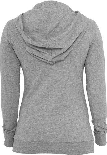 Urban Classics Hoodie Jersey dames TB387 Grey