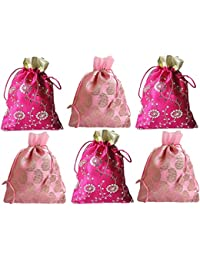muccasacra Women's Potli (Set of 6) (546_Pink)