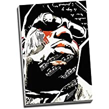 Biggie Smalls Notorious Big Abstract Hip Hop Canvas Print Wall Art Picture Canvas Prints Large A1 30 X 20 Inches (76.2Cm X 50.8Cm)