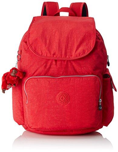 Kipling - CITY PACK L - Großer Damen Rucksack - Vibrant Red - (Rot)