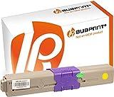 Bubprint Toner kompatibel für Oki 46508713 für C332DN C332 DN MC363DN MC363 DN MC363N 1.500 Seiten Gelb/Yellow