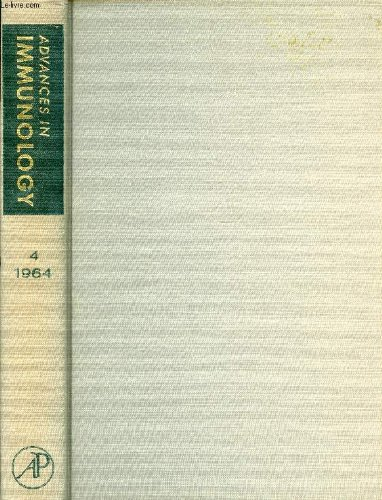 ADVANCES IN IMMUNOLOGY, VOLUME 4, 1964 (Contents: Ontogeny and Phylogeny of Adaptive Immunity, R.A. Good, B.W. Papermaster. Cellular Reactions in Infection, E. Suter, H. Ramseier. Ultrastructure of Immunologic Processes...) par HUMPHREY J. H. & ALII DIXON F. J. Jr.