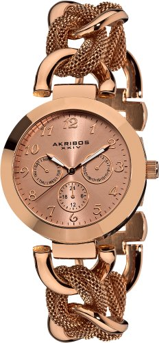 Akribos AK564RG - Orologio da polso da donna