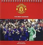 Manchester United F.C. Official Desk Easel 2018 Calendar - M (Desk Easel Calendar 2018)