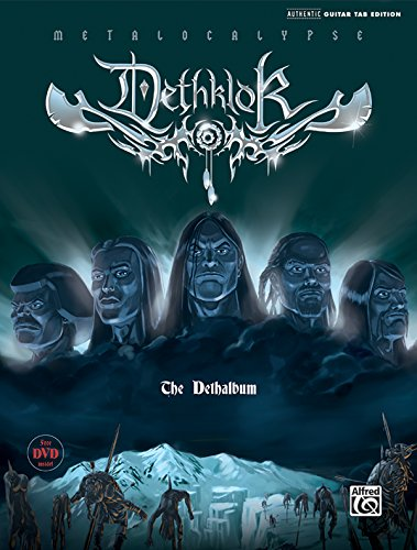 The Dethalbum: Authentic Guitar Tab par Dethklok