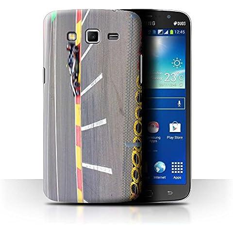 Carcasa/Funda STUFF4 dura para el Samsung Galaxy Mega 5.8 / serie: Pista Carreras Foto - Coche Carreras