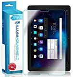 AT&T Primetime Screen Protector (Tablet)[2 Pack], ILLUMI AquaShield Full Coverage Screen Protector for AT&T Primetime HD Clear Anti Bubble Film