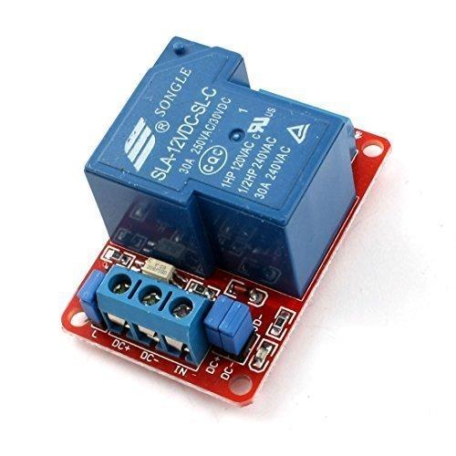 Preisvergleich Produktbild sourcingmap® SLA-12VDC-SL-C 1-weg Optokoppler Relaismodul DC12V 3