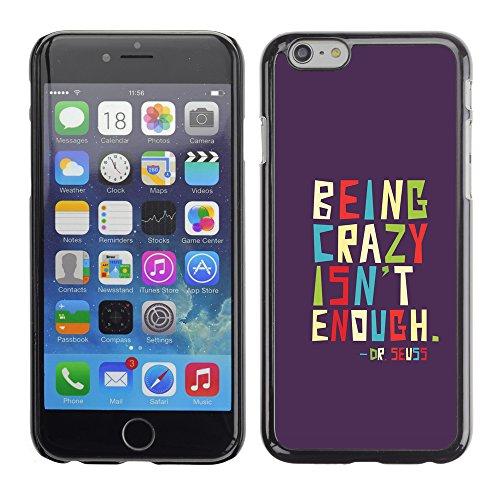 Graphic4You Dont Settle Love Englisch Zitat Nachricht Harte Hülle Case Tasche Schutzhülle für Apple iPhone 6 / 6S Design #6