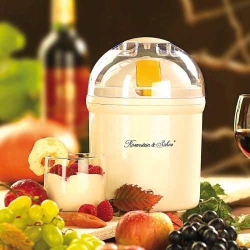 Rosenstein & Söhne Joghurt-Maker für 1 Liter frischen Joghurt - 3