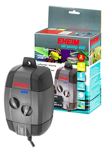 Eheim 3704010 Luftpumpe air pump 400 regelbar (Aquarium Pumpe Eheim)
