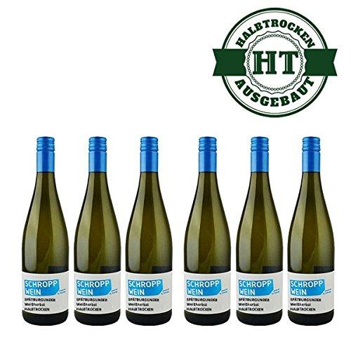 Weingut-Martin-Schropp-Weiherbst-Sptburgunder-halbtrocken-2014-6-x-10l