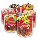 Red Band Sortimentspaket Dosen - 6er Pack | Fruchtgummi und Lakritz