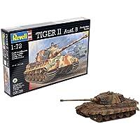 Revell Maqueta Tiger II Ausf. B, Kit Modelo, Escala 1:72 (03129)