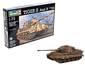 Revell- Tiger II Ausf. B Maqueta Tanque de Guerra, 10+ Años, Multicolor (03129)