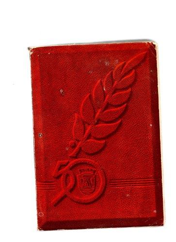 Livre du cinquantenaire de la ville d'esch-sur-alzette