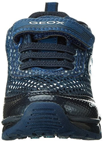 Geox J Android B, Sneakers Basses Garçon Bleu (Navy/avioc0700)