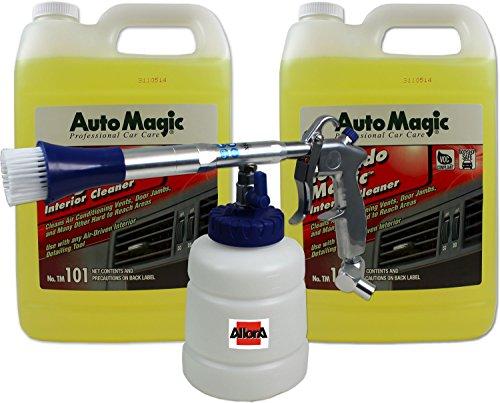 Preisvergleich Produktbild NEUe Generation! AllorA Ball Booster Reinigungspistole + 2 Gallonen Tornado Magic Reiniger