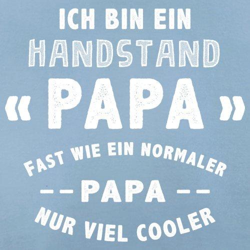 Ich bin ein Handstand Papa - Herren T-Shirt - 13 Farben Himmelblau