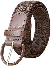 Cinturon de mujer Cinturón para mujeres Hebilla antialérgica Cinturón  elástico para mujeres Estudiantes jóvenes Cinturón compilado 4f550588689b